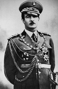 Zog, King of Albania. ca. 1928-1939 indoors